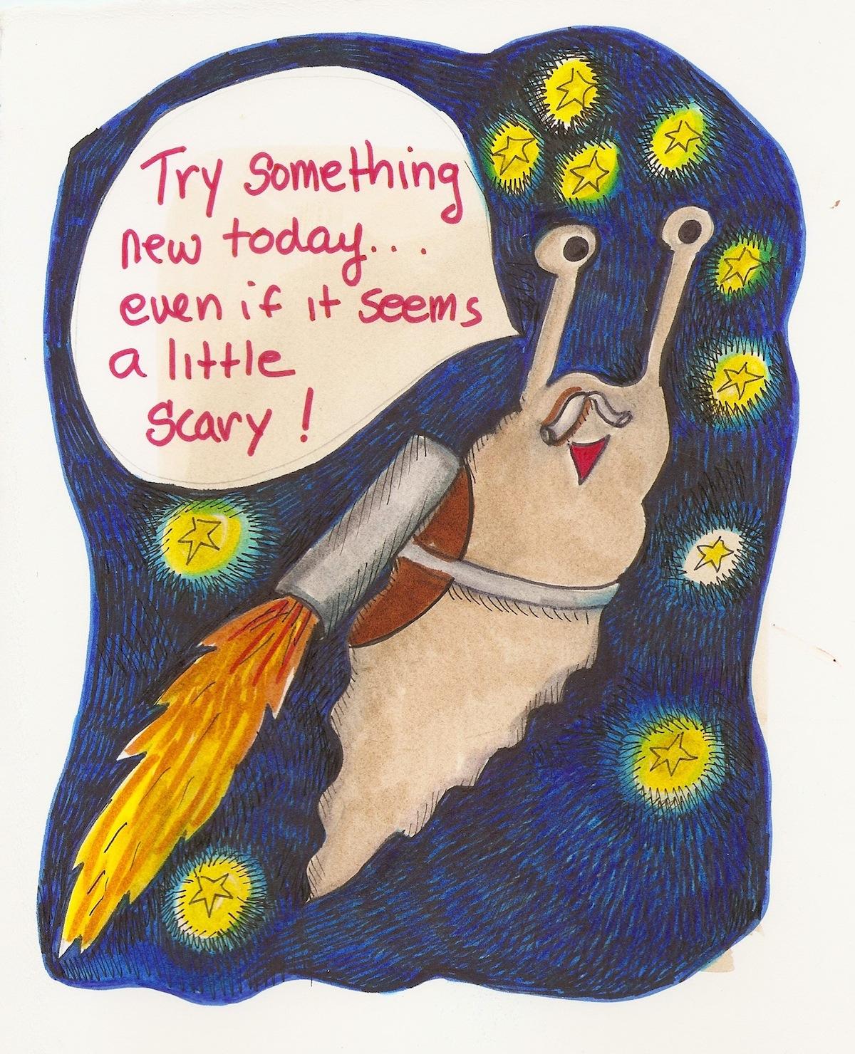 slug advice try something new