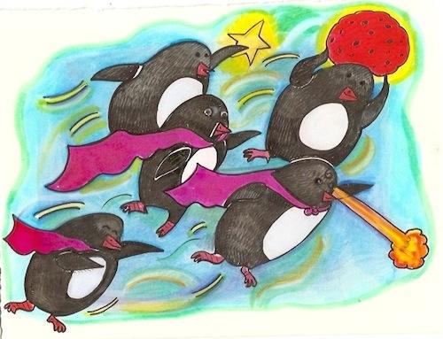 penguin super heros