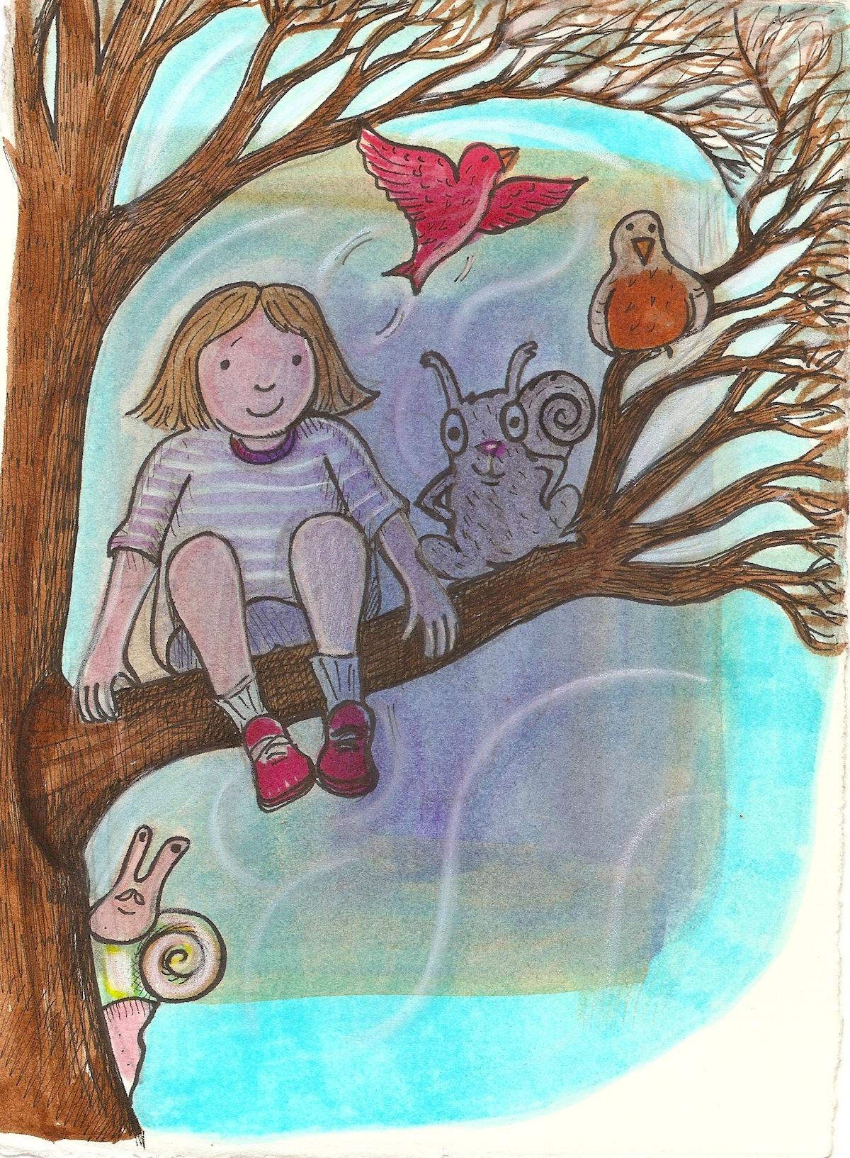 climb a tree day