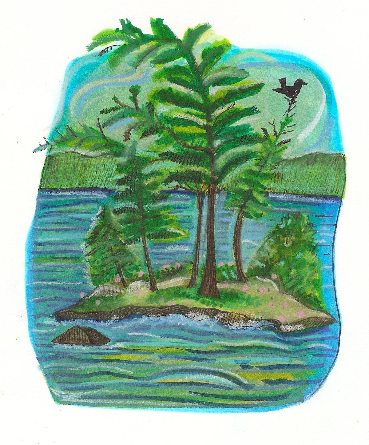 island on Sag