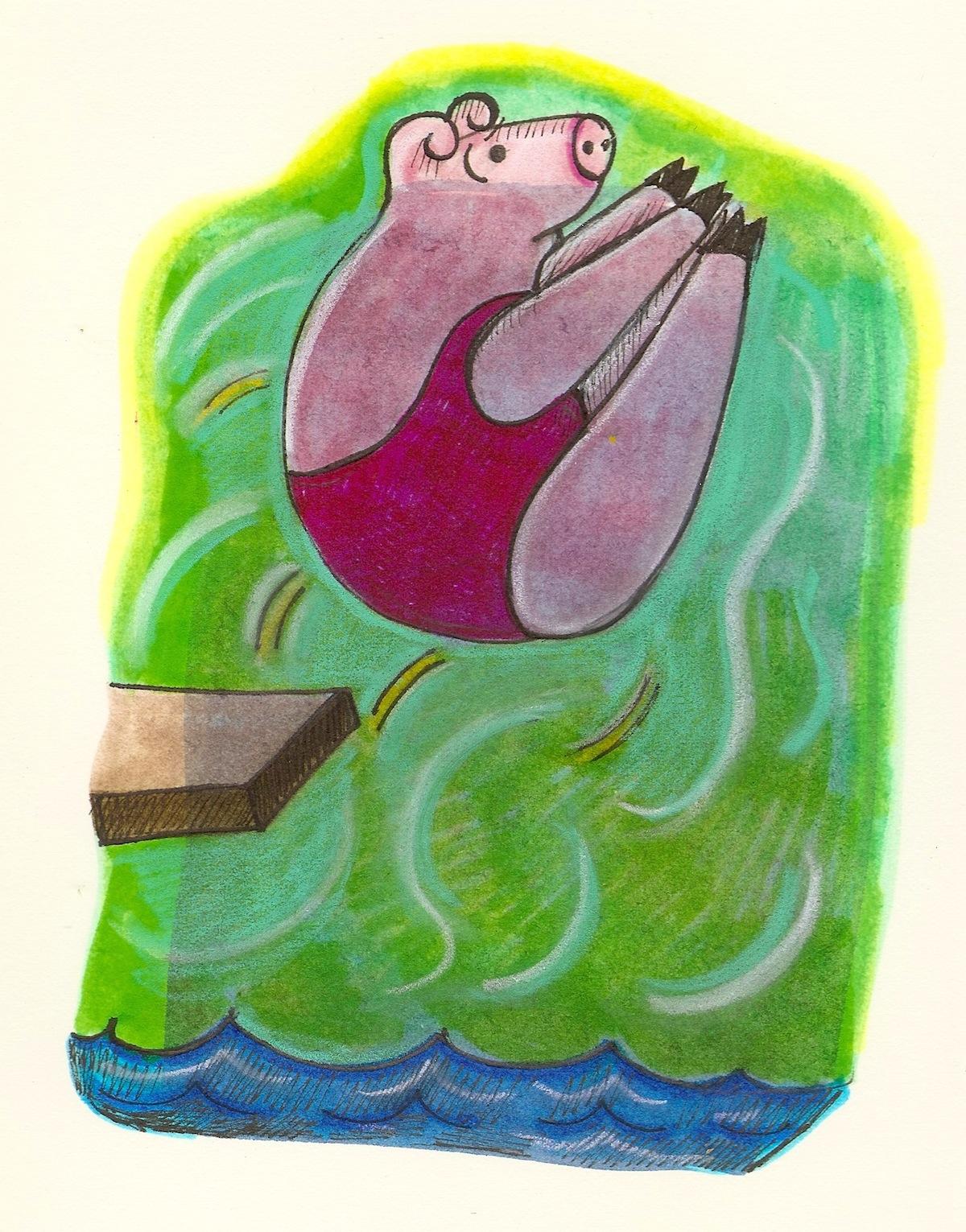 pig diver