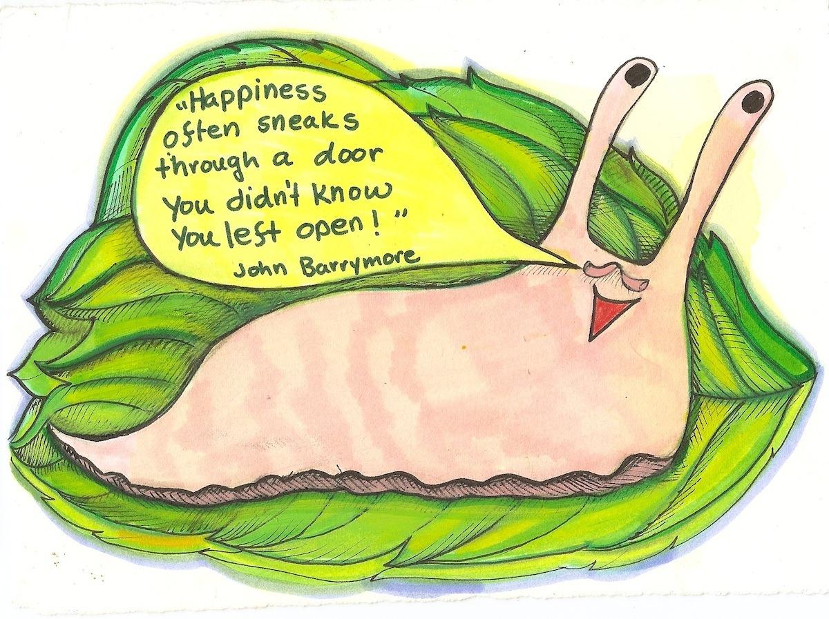 slug on happiness